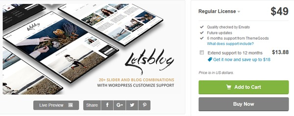 lets-blog-wordpress-theme